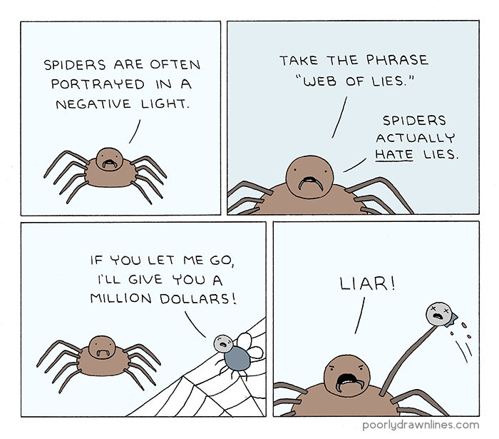 unfair-to-spiders